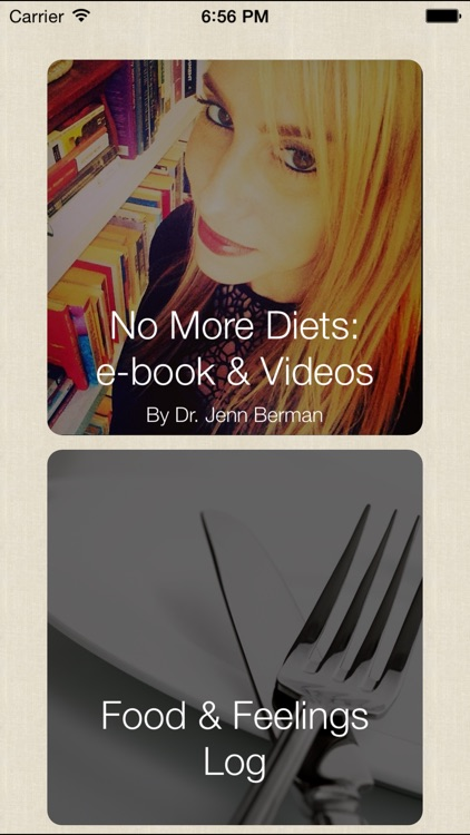 No More Diets: Dr. Jenn Mann's Guide to Overcoming Overeating and Losing Weight screenshot-0