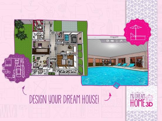 Screenshot #1 for Home Design 3D: My Dream Home