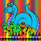 Dinosaur Coloring Book -  Dino Drawing For Good Kid Games icon