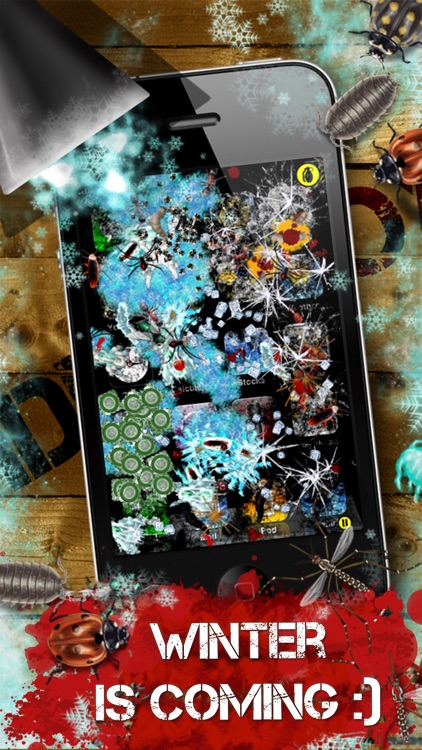 iDestroy Reloaded: Avoid pest invasion, Epic bug shooter game with crazy war weapons screenshot-3