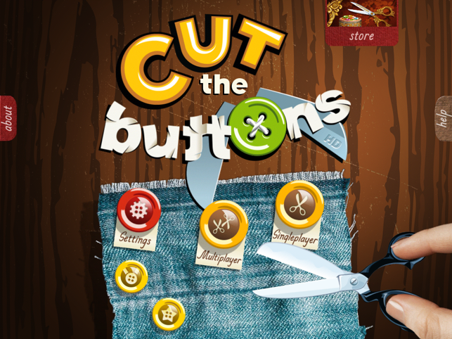 ‎Cut the Buttons HD Screenshot