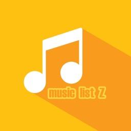 無料音楽プレイヤー Music LIST Z(ミュージック リスト ゼット) for YouTube
