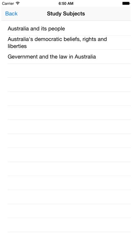 Australian Citizenship Test: Our Common Bond screenshot-3