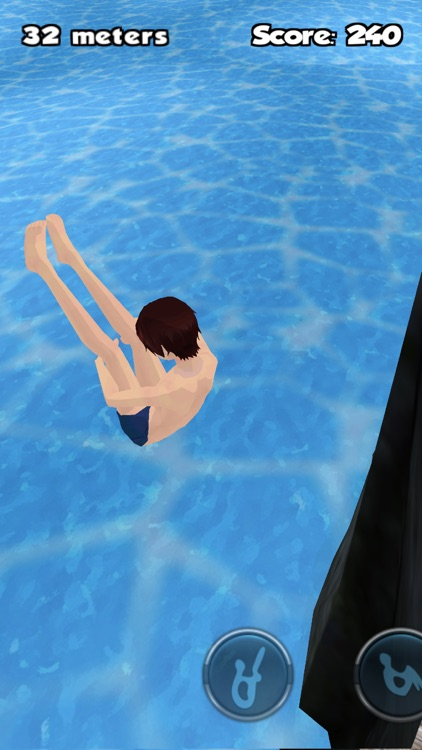 Cliff Diving 3D screenshot-3