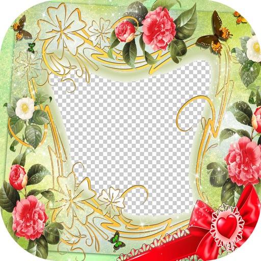 Beautiful Flower Frames - For Love