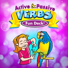 Activities of Active & Passive Verbs Fun Deck