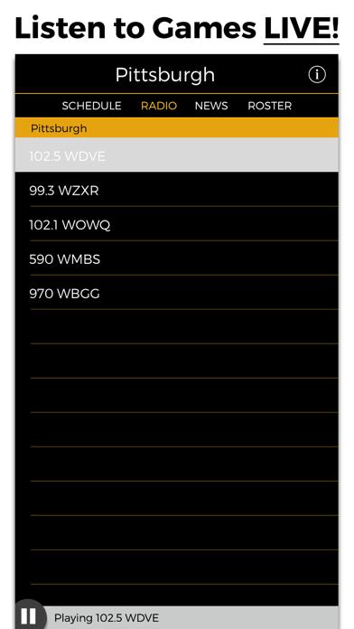 Pittsburgh Football Radio & Live Scores screenshot one
