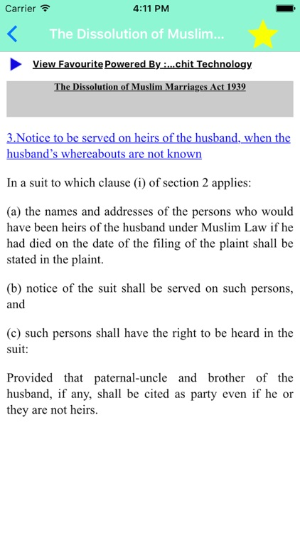 dissolution of marriage in muslim law