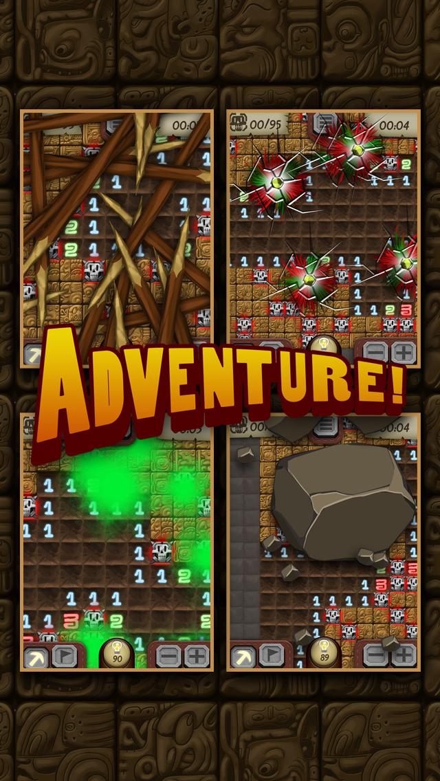 Temple Minesweeper - El Dorado Adventure with Mine Sweeper Gameplay screenshot three