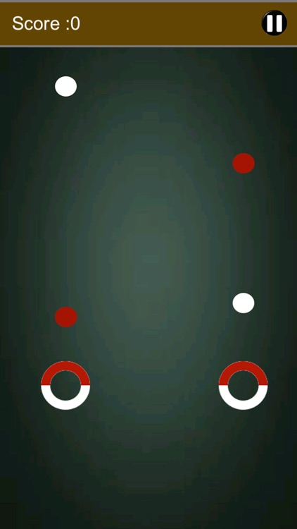 Impossible Ball Rush: Match ball color with circle color