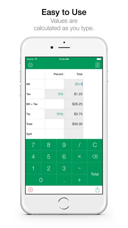 Tips HD Pro Free - Easy Tip Calculator