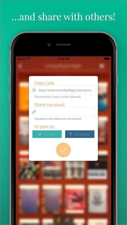 Evershelf - Organize Books, CDs, vinyl records, and movies - search your shelves - share your collections! screenshot-4
