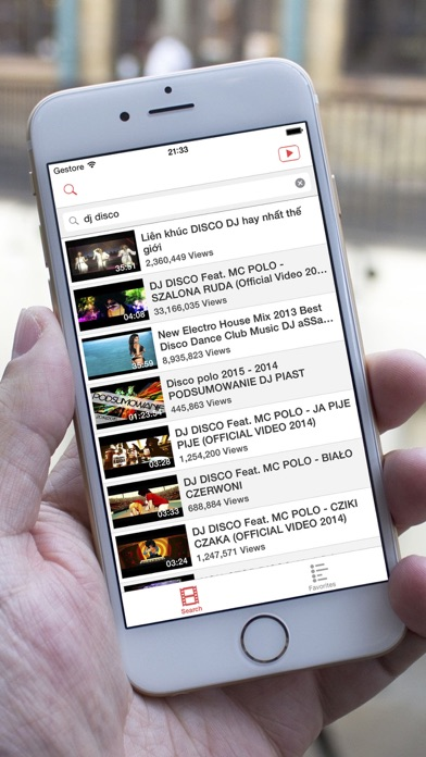 YouPlay - Player for YouTube HD screenshot one