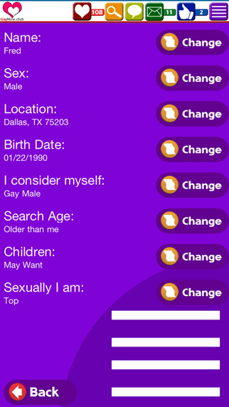 GayNow.club Dating App Screenshot on iOS