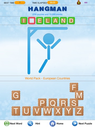 Hangman - Search and Crack Hidden Word Puzzle-ipad-1