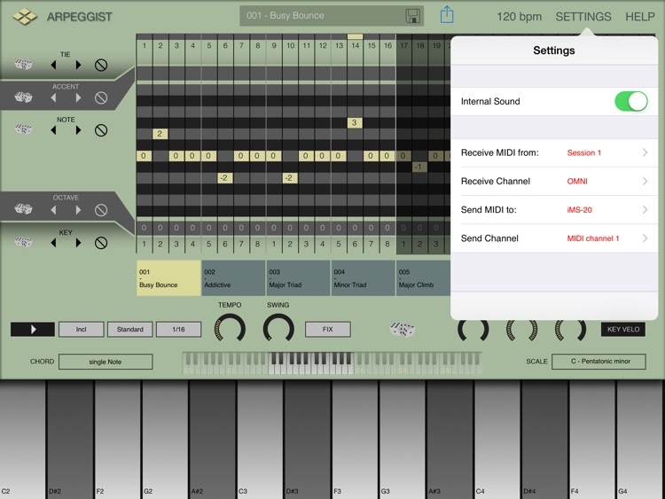 Arpeggist screenshot-3