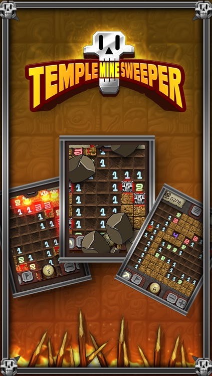 Temple Minesweeper - El Dorado Adventure with Mine Sweeper Gameplay
