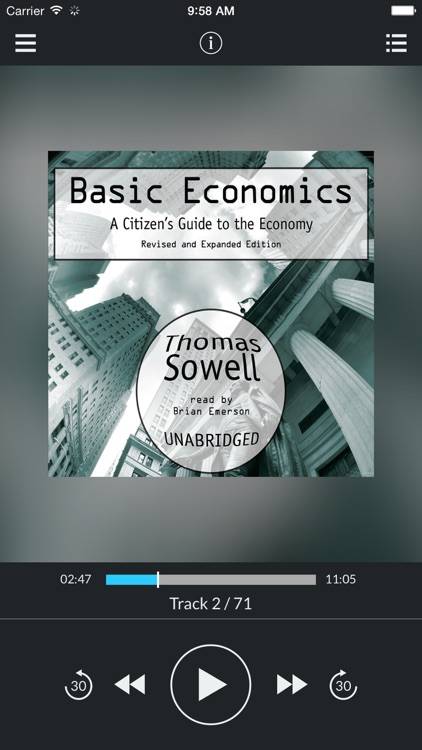 Basic Economics (UNABRIDGED AUDIOBOOK)