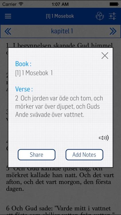 Swedish Bible screenshot-3