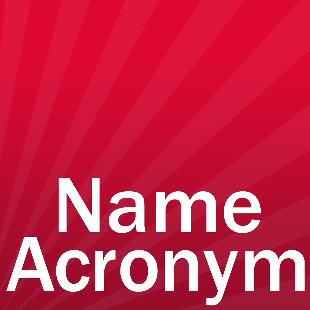 Your Name Acronym