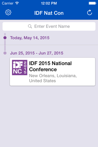 2015 IDF National Conference screenshot 2
