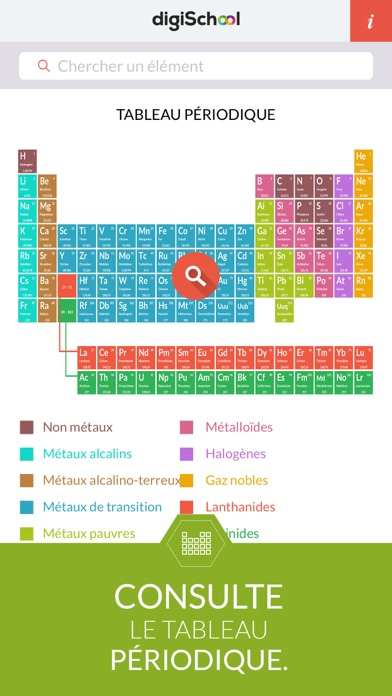 Chemical Elements with digiSchool