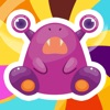 A Cute Monsters Learning Game for Children: Learn and Play for Pre-School