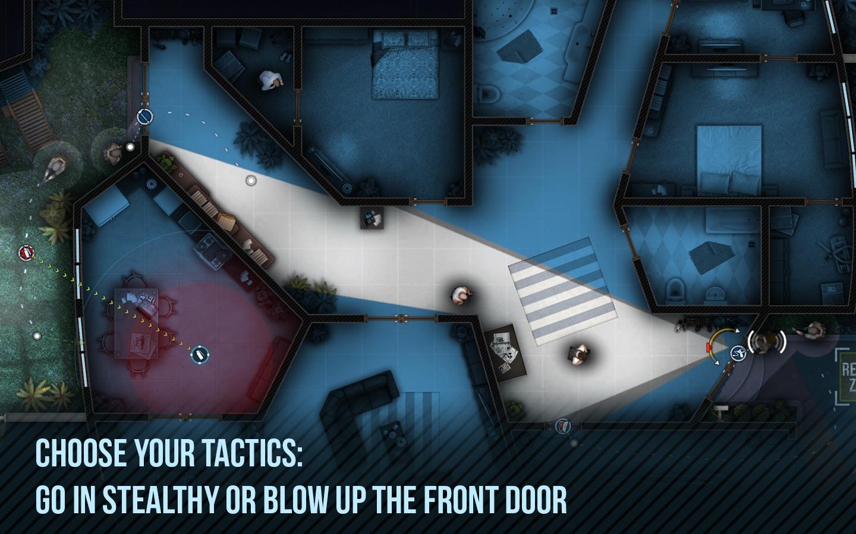 Screenshot do app Door Kickers