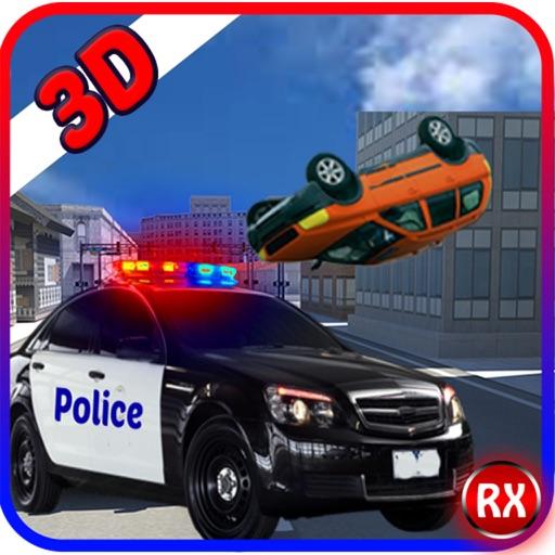 逮捕強盗という警官のデューティ·オフィサー - 泥棒駆動&レーシング対警察の車