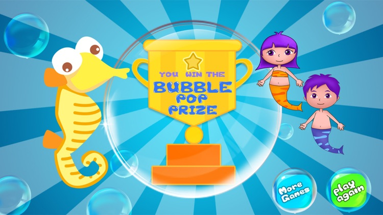 Anna's mermaid bubble pop adventure - free kids learning games screenshot-4