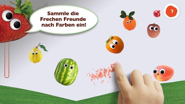 Freche Spiele App für Kinder: Lerne mit Obst & Gemüse das ABC ...