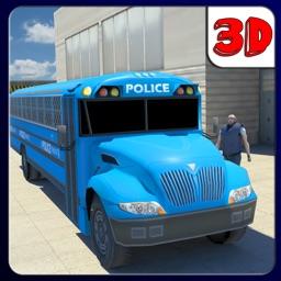 Police Truck Transporter 3D