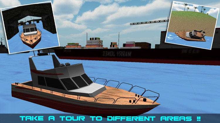 Sailing Cruise Ship Simulator 3D screenshot-3