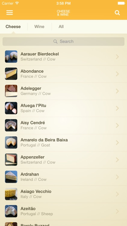 Max McCalman's Cheese & Wine Pairing App screenshot-2