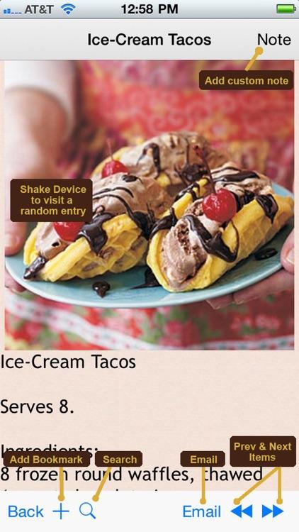 400 Desserts & Snacks Recipes screenshot-4
