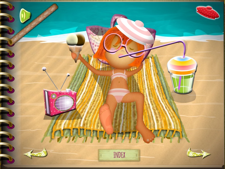 Rose Milany at the beach