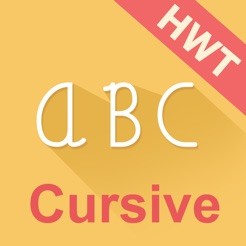 cursive writing hwt style on the app store