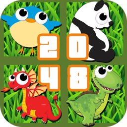 X Animals - 2048 New Pet Mutant Puzzle Game HD