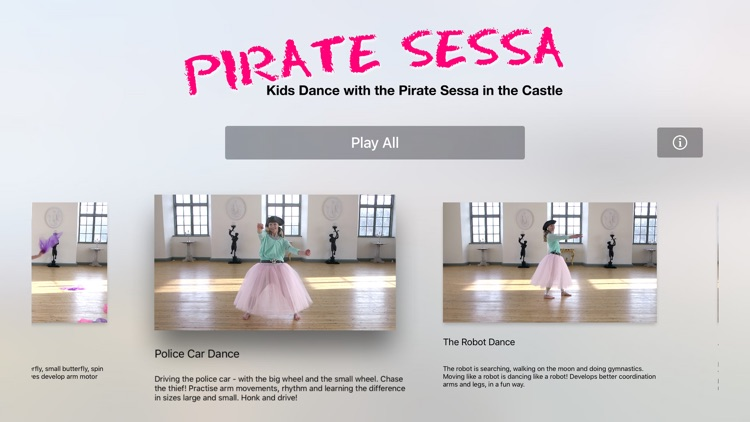 Kids Dance with Pirate Sessa in the Castle