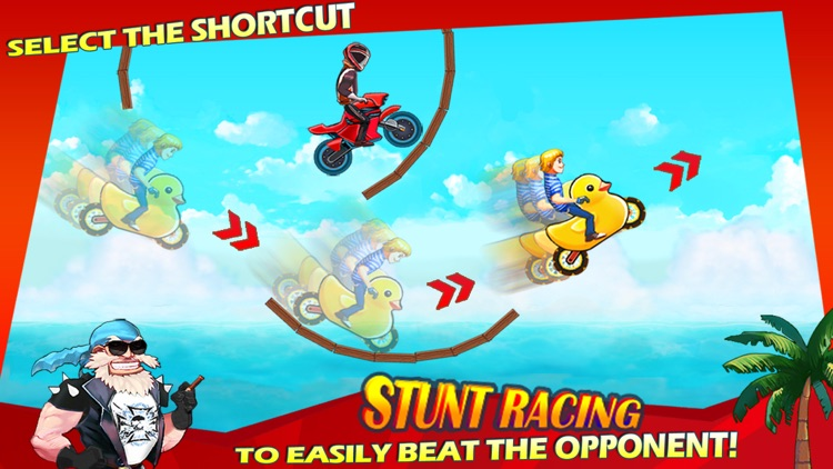 Stunt Racing - Extreme Moto Trials screenshot-4