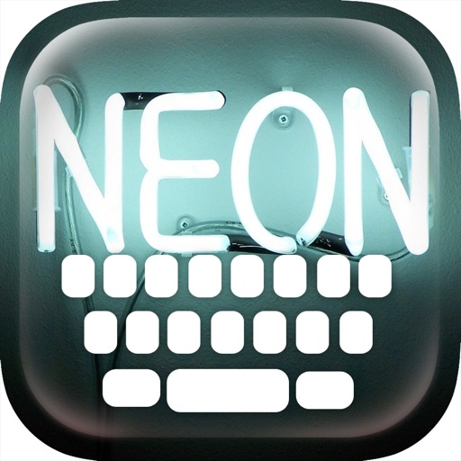Custom Keyboard Neon : Color & Wallpaper Themes in The Night Lights Mania Style
