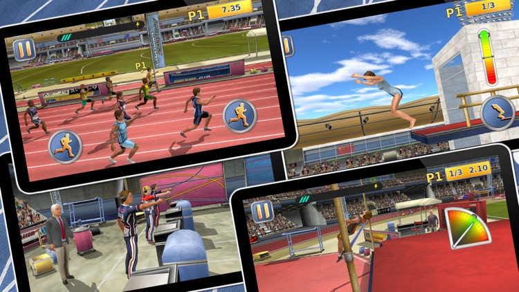 Athletics 2: Summer Sports - Free screenshot-3