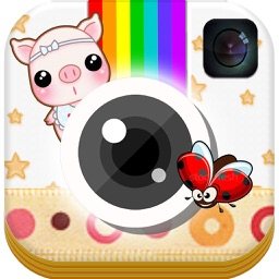 Cute Cartoon and Love Sticker Frame
