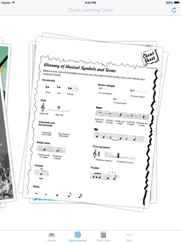 Musical Term Flashcardimage Illustrations With Learning Sheet And