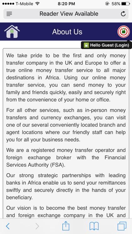 Immedi8 Money Transfer By Remitanywhere