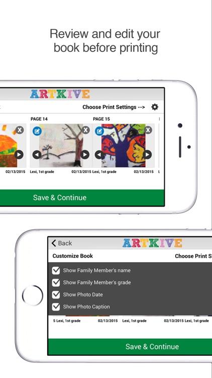 Artkive - Save Kids' Art screenshot-4