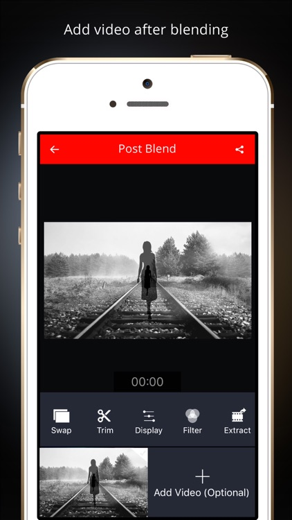 Vidblend Video Blender: Merge & blend video clips into one single video & share on Instagram,Facebook & Vine