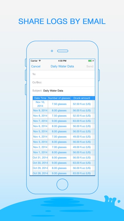 Daily Water Pro - Water Reminder and Counter screenshot-4