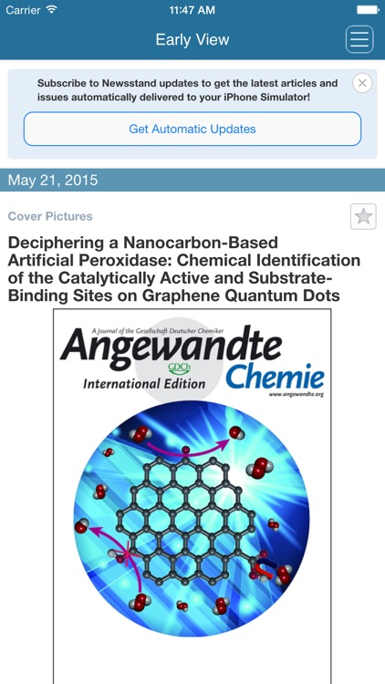 Angewandte Chemie International Edition screenshot-0