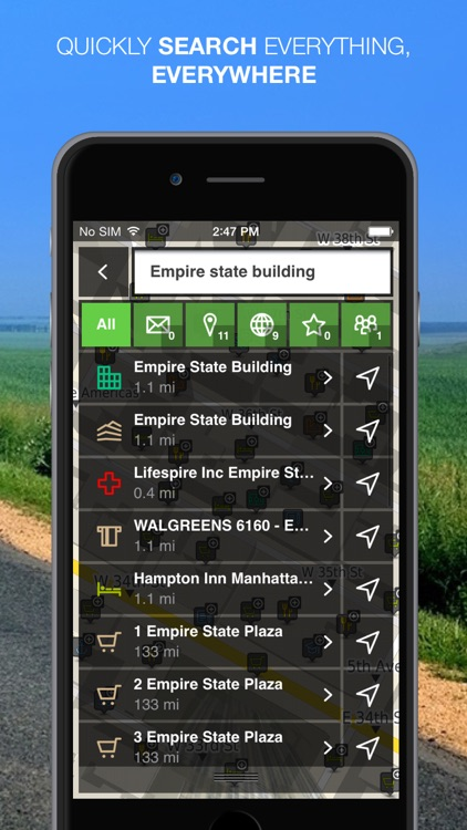NLife Explorer - Offline GPS Navigation, Traffic & Maps screenshot-3